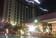 Pool side Wedding Party  by RedTop Hotel and convention centre