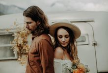 Bohemian boler elopement in the Canadian Rockies by The Wanderer