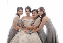 Wedding of Jojo & Novi by Reginapangmakeup