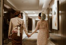 Renata & Reza Wedding at Intercontinental Jakarta by AKSA Creative