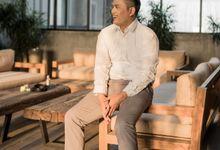 Rendy Evelyn Wedding   Groom's Morning Preparation by Ducosky