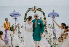 Renewal Vow of Sushil & Jessie by Samabe Bali Suites & Villas
