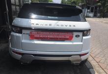 Sewa Range Rover Evoque Putih Surabaya by Rentalmobilpengantin.com