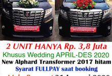 Promo Sewa Alphard Surabaya untuk APRIL SD DES  by Rentalmobilpengantin.com