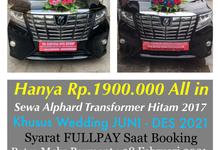 Promo Sewa Alphard Surabaya untuk Mobil Pengantin  by Rentalmobilpengantin.com