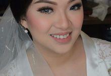 Wedding Makeup Hairdo For Eri & Elizabeth by Rinny Lee Makeup