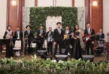 Big Band for The Wedding of Sindy & Yudha at Dhanapala by La Oficio Entertainment