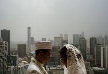 Bunga & Resa Wedding at Terrarium Rooftop by The Imperium