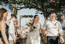 Wedding of Callan & Julia by Fairmont Sanur Beach Bali