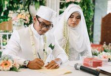 Wedding of Aditya and Nabila by Divine Production