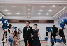 Receptions of Hendry & Kartika by Kayika Wedding Organizer
