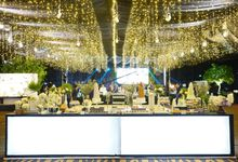 Wedding of Revie & Widarti - Jardin Sweet Corner by Questo La Casa Pastry