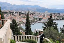 Overseas (Croatia) Pre-wedding Bridal Makeover by Makeupwifstyle