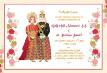 e-invitation Disty & Shabrun by rusticme