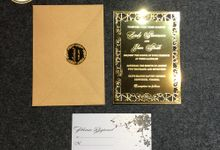 SANLY & JHON (Golden Envelope Luxury) by Sanggar Undangan