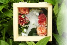 Personalized Wedding Ring Box by Roopa