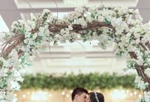 The Wedding of Rio & Hilda by  Menara Mandiri by IKK Wedding (ex. Plaza Bapindo)