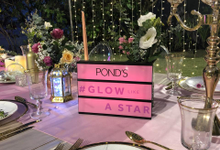 PONDS INDONESIA Launching new product by Rhea Florist Bali