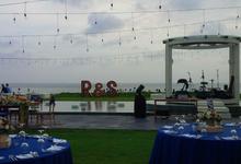 The Wedding of Ringgo Agus Rahman & Sabay Morchek  by Rhunos Bali