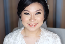 Cicile Wedding  by Riaangelinamakeup