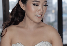 Wedding Makeup for Mrs. Yenny by Riaangelinamakeup
