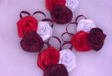 Hand Corsage , groom ,etc by ribbondecoration