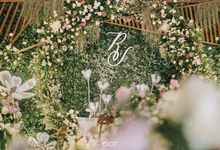 The Wedding of Richard & Stella by Elior Design