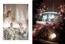 Richard & Carina Wedding by ANTHEIA PHOTOGRAPHY