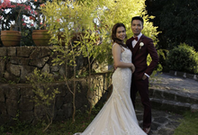 Des and Axis's rustic garden wedding by Richie Ortega-Torres