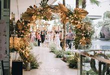 The Wedding of Ricky & Sheila by Elior Design