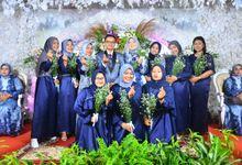 paket nikah medium azza 45 jutaan sudah komplit konsep wedding muslim by azza wedding