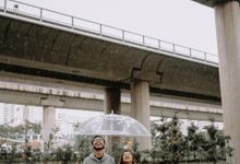 Cityscape Prewedding Session Singapore Baghaz & Yesi by Hexa Images