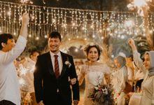 Rina & Danang Wedding at Green Andara by AKSA Creative