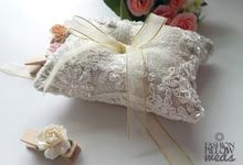 Custom Wedding Ring Pillow by Fashion Pillow Weds