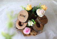 RING BEARER RUSTIC by Fioreplum Bouquet, Ring Bearer, Hampers