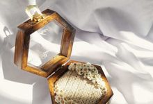 Ring Box Hexagonal by Kimy.Florist