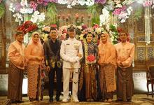 Mediana & Country Wedding Reception by Rio Febrian