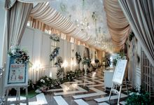The wedding of Rita and Wismoyo by Pullman Bandung Grand Central