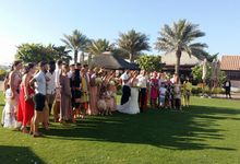 British footballer ties the knot in Dubai by Theresa D Wedding Celebrant