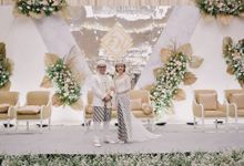 The Wedding of Ershad & Novi by Hotel Olympic Renotel Sentul