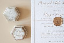 Raymond & Maggie Invitation Suite by Sho Paper