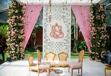 Beautifully Indian Wedding by Konsep Sejiwa