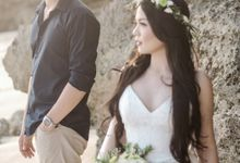 Randy & Mega Bali by ANTHEIA PHOTOGRAPHY