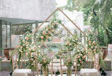 The Wedding of Fenny & Alvin at Azila Villa by Decor Everywhere