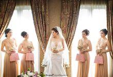 The Wedding of Ryan & Nathania by thePhotograph