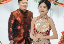 Sangjit Ricky & Diajeng by Calysta Sangjit Decoration