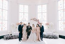 Wedding of Angga & Andrea by FROST Event Designer
