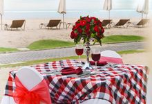 Romantic Dinner by The Beach by Tijili Benoa Hotel