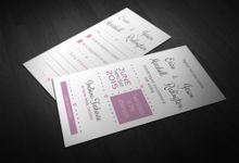 Vintage Wedding Stationery Set by Weddings by Mint