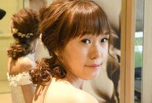 Soleminzation Elegant Bride by Angel Chua Lay Keng Makeup and Hair